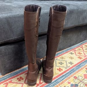 Rockport Shoes - Rockport brown leather knee high boots